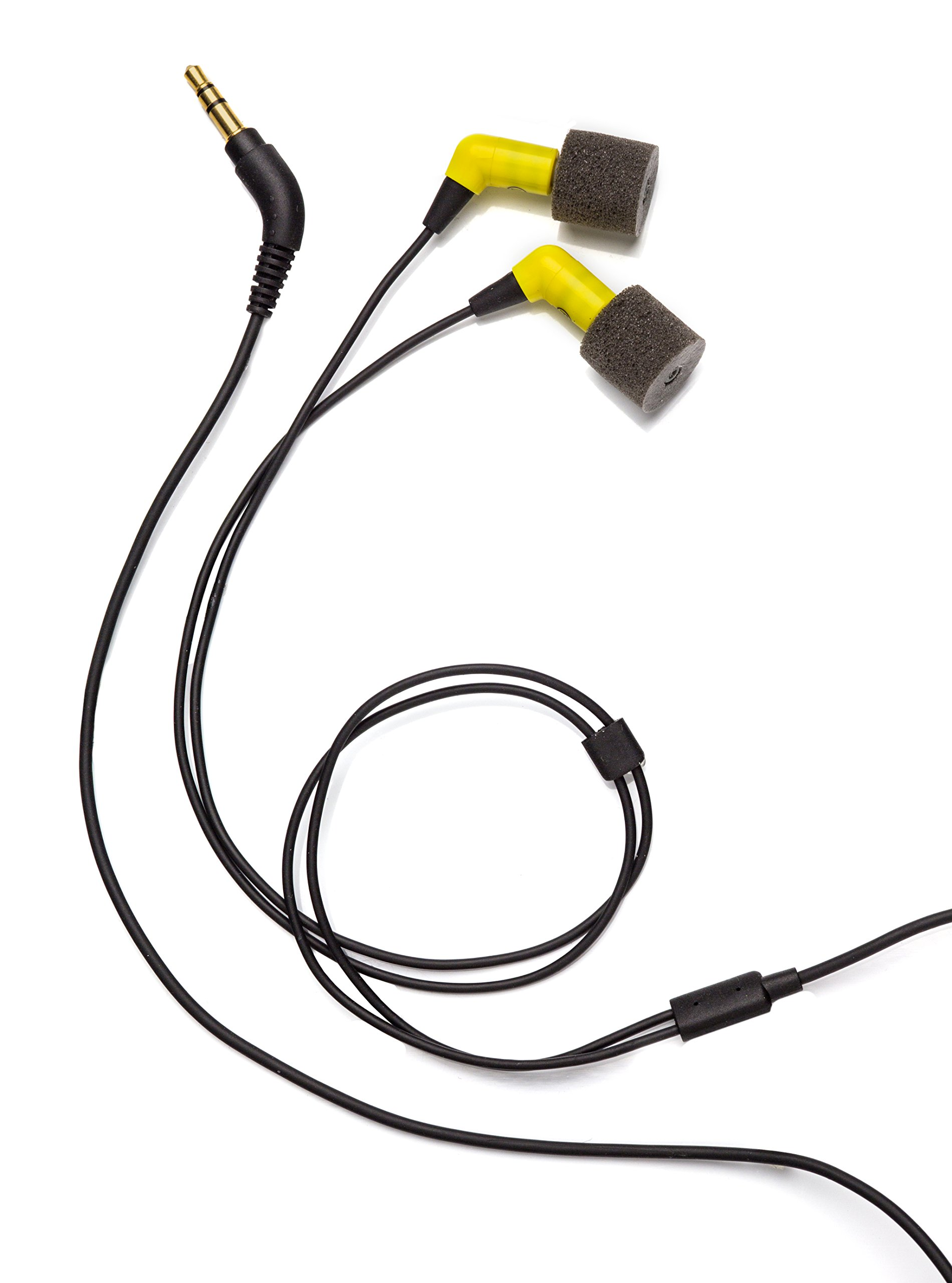 Etymotic HD5 Safety Headset and Earphones - Industrial Hearing Protection, Safe Listening Earphones, Yellow