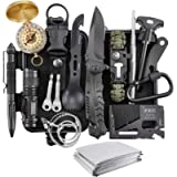 Survival Kit, Verifygear 17 in 1 Professional Survival Gear Tool Emergency Tactical First Aid Equipment Supplies Kits…