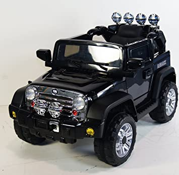 ride on car new jeep wrangler style battery 12v total with remote control