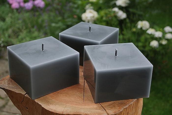 3 Stuck Outdoorkerzen Kerzen Outdoor Kerze Garten Terrasse