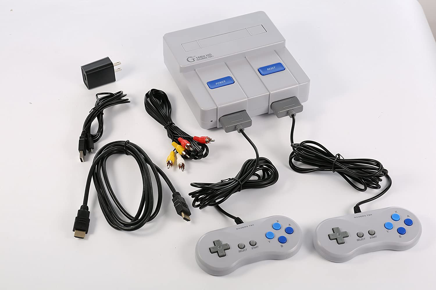 16-BIT HD Entertainment System for SNES (HDMI Output): Video Games
