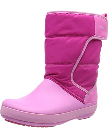 c18eb399a442 Crocs Kids  Boys   Girls LodgePoint Snow Boot