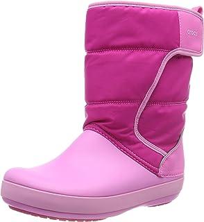 Crocs LodgePoint Snow Boot Kids, Stivali da Neve Unisex – Bambini Stivali da Neve Unisex - Bambini