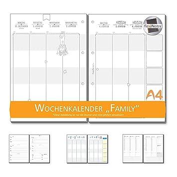 Semana Calendario.Flexinotes Semana Calendario 2019 A4 Calendario Plantilla Basic 1