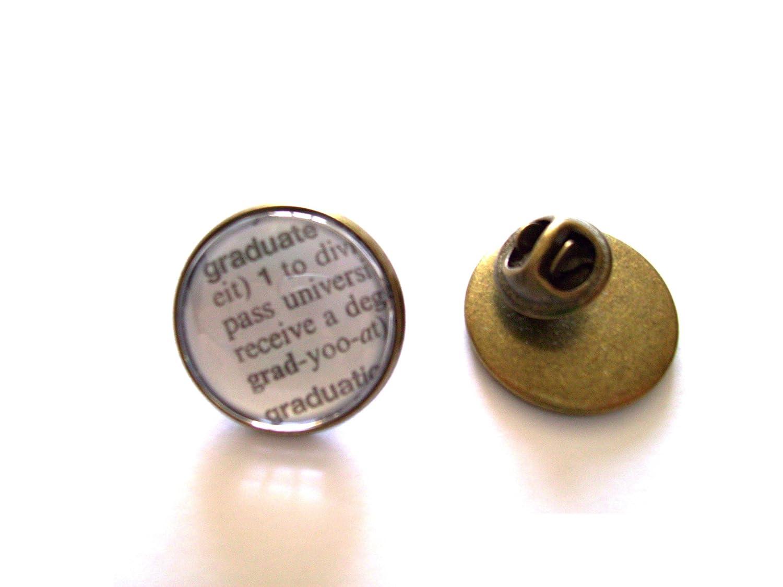 Broche/corbata Pin/Pin de solapa: Graduate definición diccionario ...