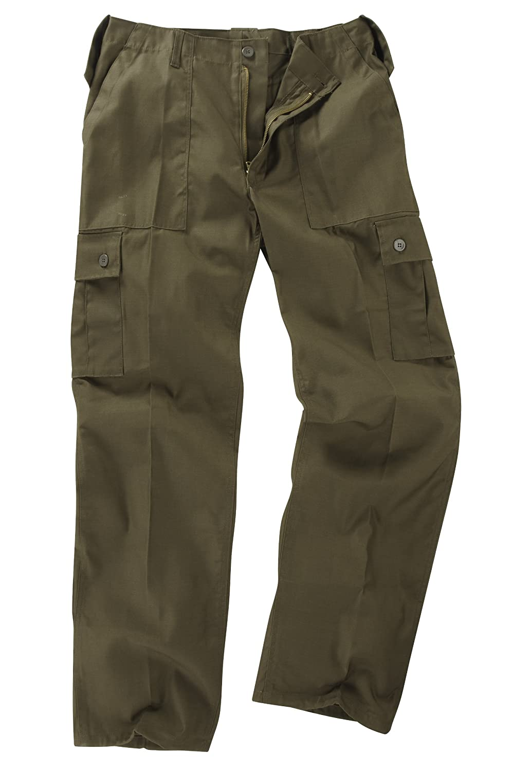 6 Pocket Basic Combat Cargo Trousers