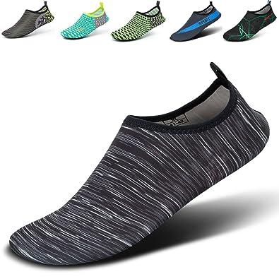Womens Mens Water Shoes Quick-Dry Barefoot Aqua Socks For Swim Beach Surf Pool Yoga