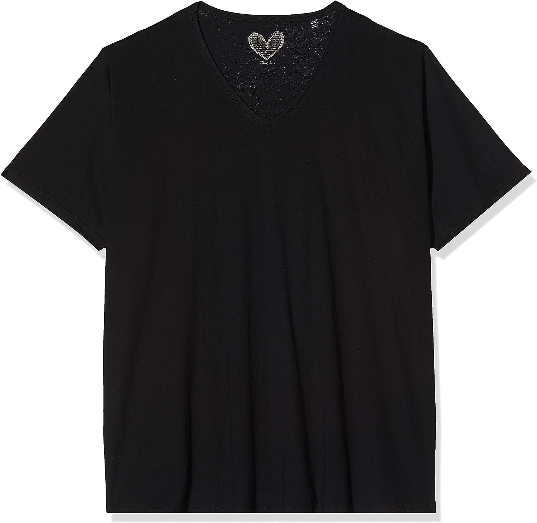 V-Ausschnitt Donna ULLA POPKEN T-Shirt
