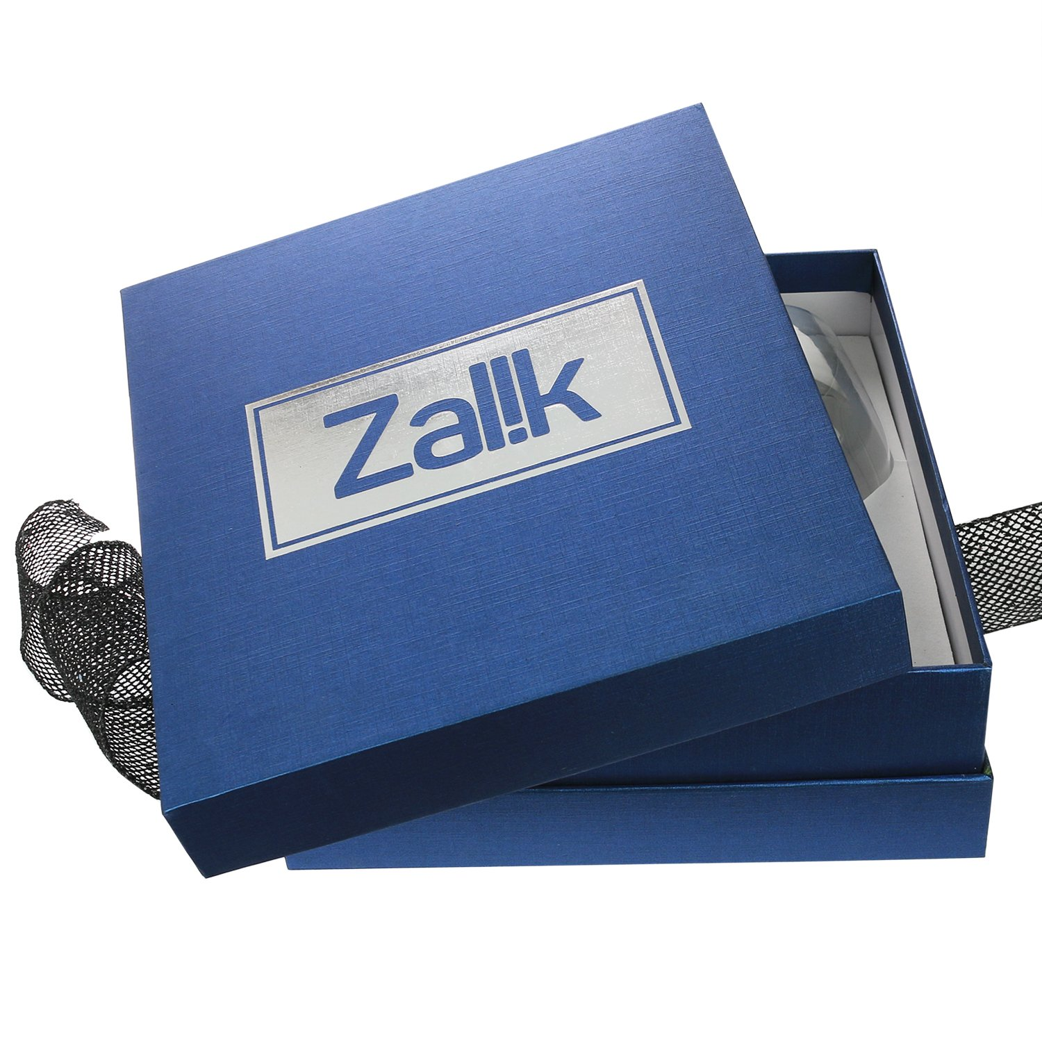 Zalik Wine Glasses Gift Set - Set Of 2 Wine Glasses, Wine Opener, Wine Stopper And Wine Aerator Pourer For Enhanced Flavor - Perfect Gift For Every Occasion - Wine Accessories - Elegant Gift Box by Zalik (Image #7)