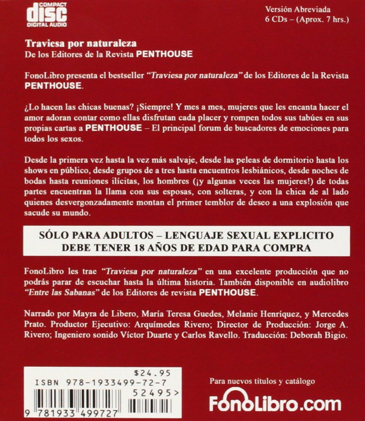 Penthouse Traviesa por Naturaleza: Cartas Eroticas De ...