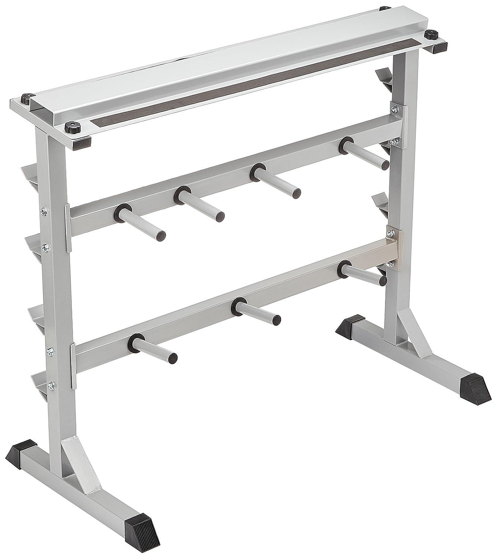 GORILLA SPORTS® Hantelscheiben-Ständer mm 30 31 mm Hantelscheiben-Ständer - Ablage für Gewichte und Hantelstangen bd81fa