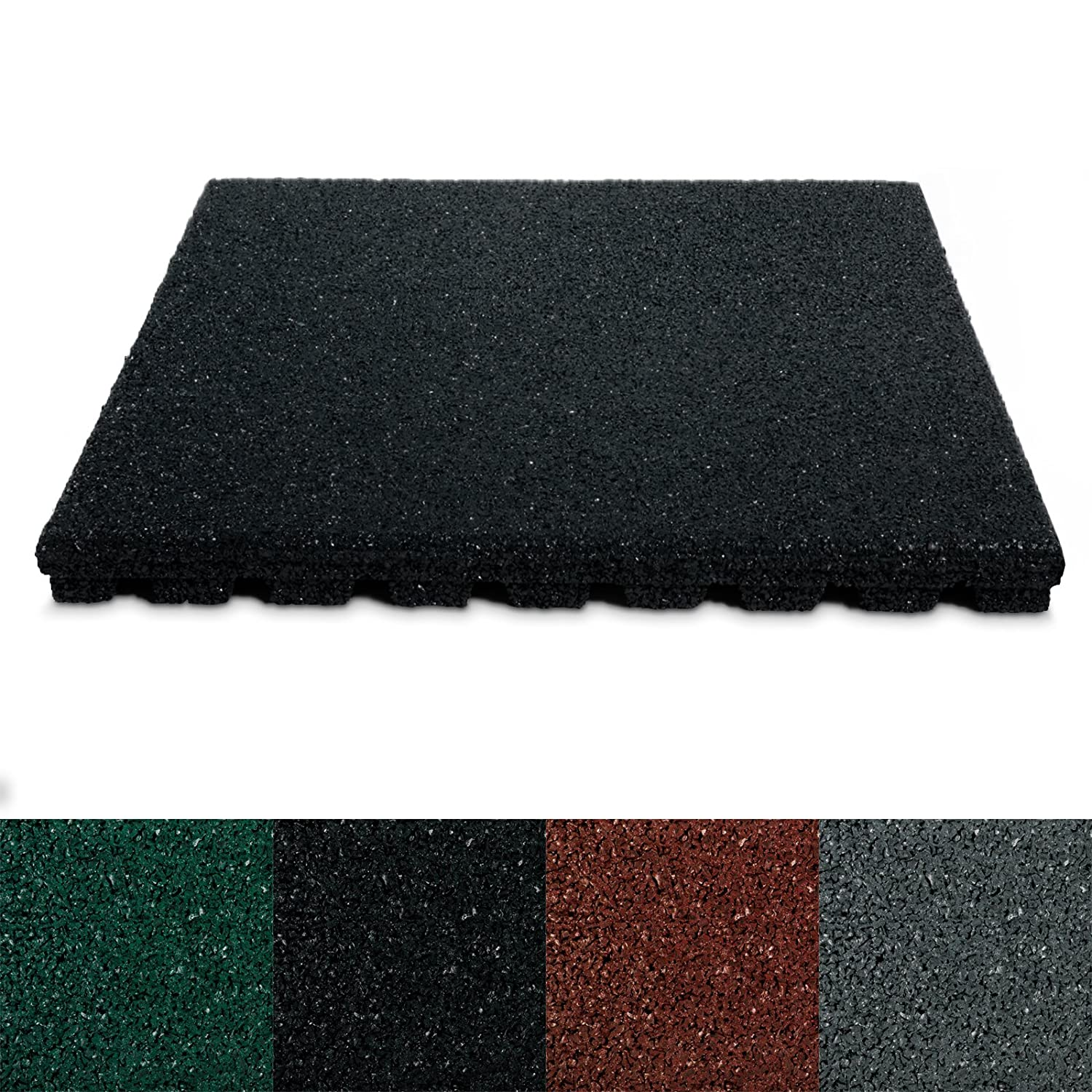 Casa pura Rubber Safety Floor Mats 25 mm   Pack of 4  50x50cm  110 x Cannons UK Rubber Playground Tiles 20mm  30mm or 40mm   Mats  . Outdoor Rubber Tiles Uk. Home Design Ideas