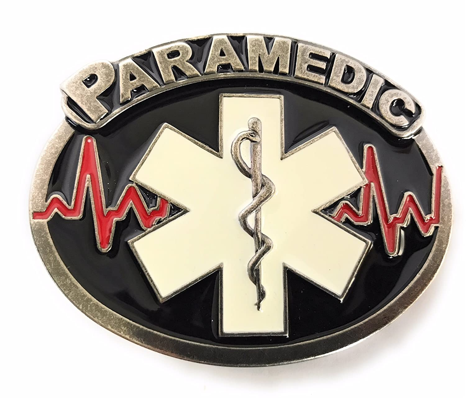 Paramedic Belt Buckle for Men