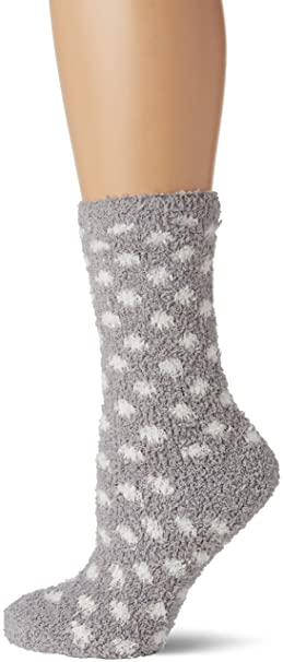 womensecret Fluffy, Calcetines para Mujer, Dark Grey (40), ...