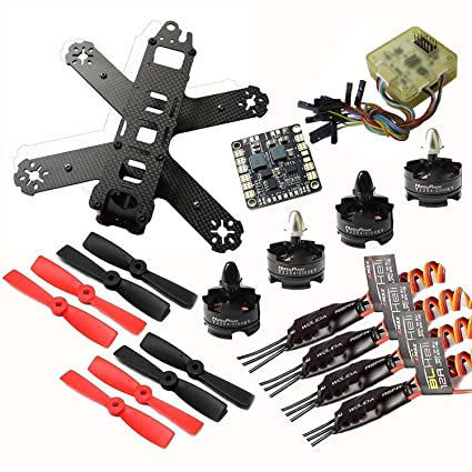 Amazon com: Hobbypower 210 FPV Quadcopter Frame with T2204 2300KV