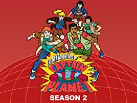 Amazon com: Watch The New Adventures of Captain Planet Season 2