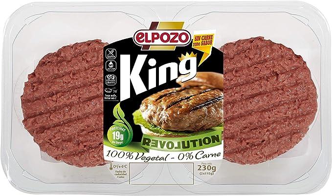 Revolution ElPozo King Burger vegetal, 2 x 115 g