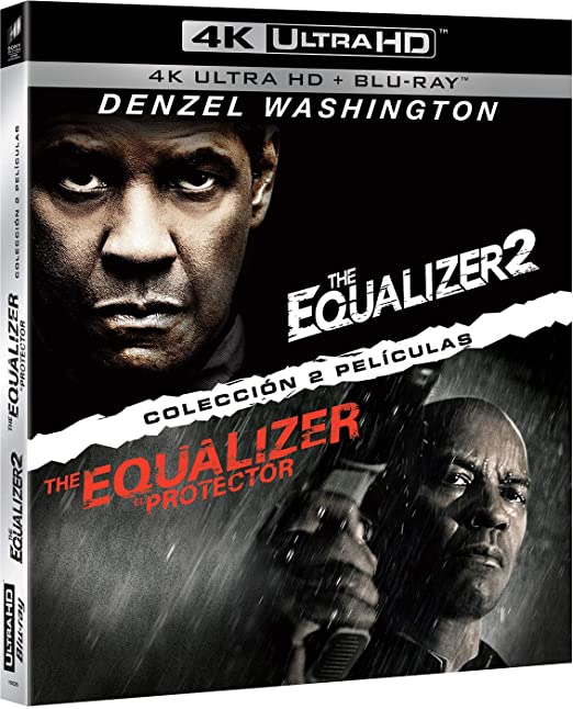 Pack: The Equalizer 1 + The Equalizer 2 UHD + BD Blu-ray: Amazon.es: Denzel Washington, Pedro Pascal, Ashton Sanders, Bill Pullman, Melissa Leo, Marton Csokas, Chloë Grace Moretz, Antoine Fuqua, Denzel Washington,