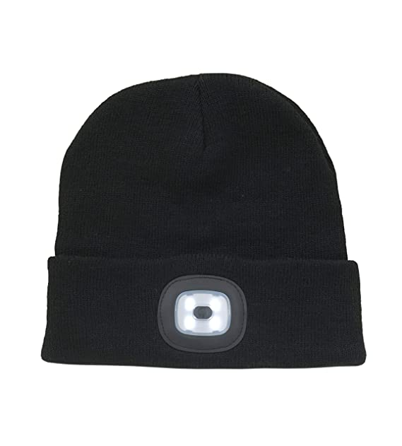 Pro Climate Adults LED Head Torch Beanie Hat (Black)  Amazon.ca ... 5e61ff49f35