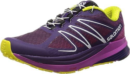 Salomon L37908900, Zapatillas de Trail Running para Mujer, Morado ...