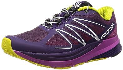 9f04f1c3d841 Salomon Sense Propulse Running Shoe - Women s Cosmic Purple Azalee  Pink Corona Yellow 6