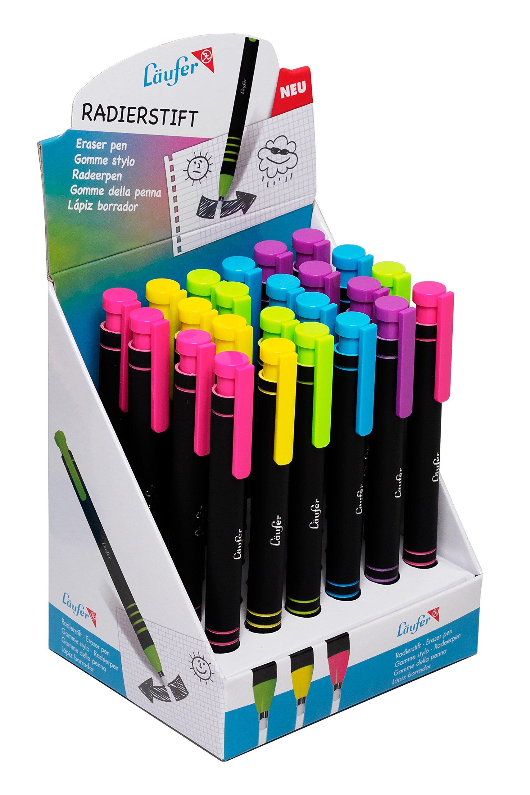 Runner Eraser Pen Blau/grün/Gelb/Pink/rosa