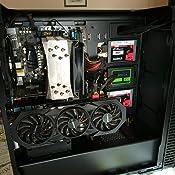 Puerto adaptador de alta velocidad de extensión PCI Express 16x hecho de un cable flexible para tarjeta vertical de 25 cm