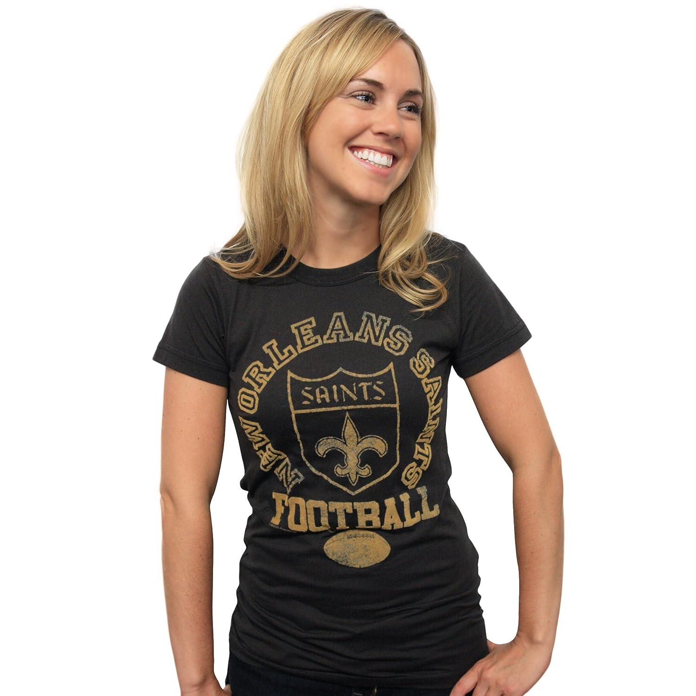 T-Shirts New Authentic Junk Food NFL New Orleans Saints Girls T-Shirt