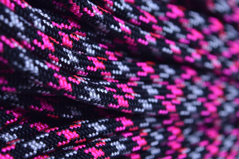 Amazon.com : BoredParacord Brand 550 lb Neon Pink Ninja ...