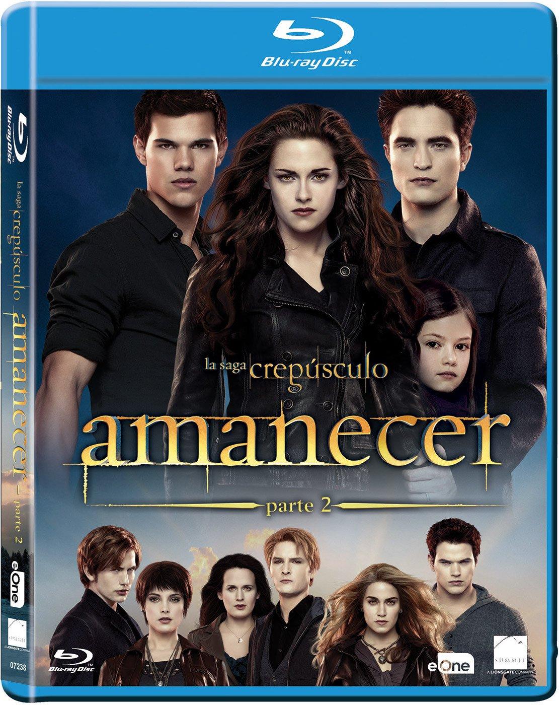 Crepusculo: Amanecer Parte 2 Blu-Ray [Blu-ray]: Amazon.es: Kristen ...