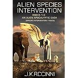 Alien Species Intervention: Books 1-3: An Alien Apocalyptic Saga (Species Intervention #6609 Book 1)