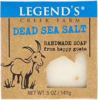 product image for Dead Sea Salt Goat Milk Soap - 5 Oz Bar - Great For Sensitive Skin - Certified Cruelty Free