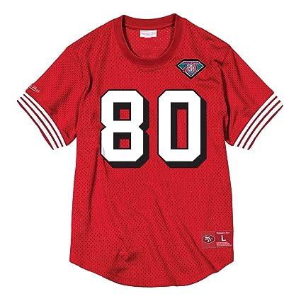 pretty nice 09361 9ffb6 Amazon.com : Mitchell & Ness Jerry Rice San Francisco 49ers ...