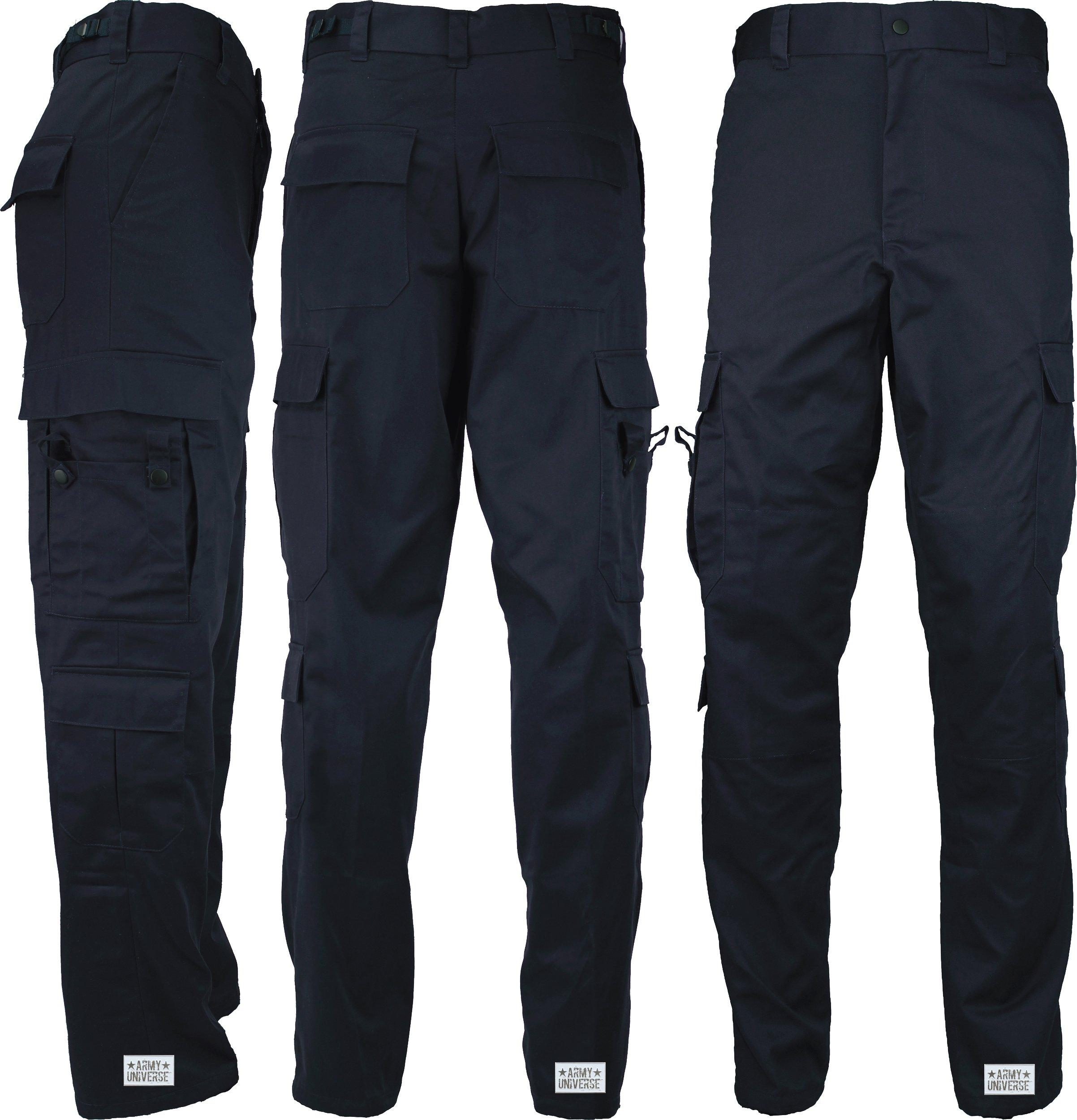 Midnight Dark Navy Blue Uniform 9 Pocket Cargo Pants bcfe20d6612