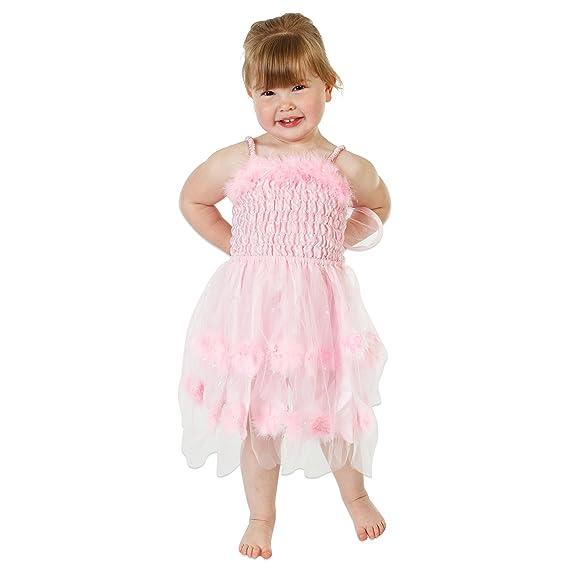 Fairy Glam Lucy Locket - Disfraz de hada salvaje rosa para niña (3 ...