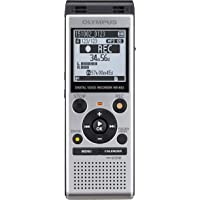 Olympus WS-852 MP3 Digital Stereo Voice Recorder with 4 GB Flash Memory and Built-In USB  4GB Stereo - Silver
