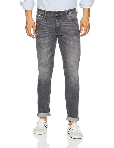 Jack & Jones Men's Skinny Fit Jeans Men's Jeans at amazon