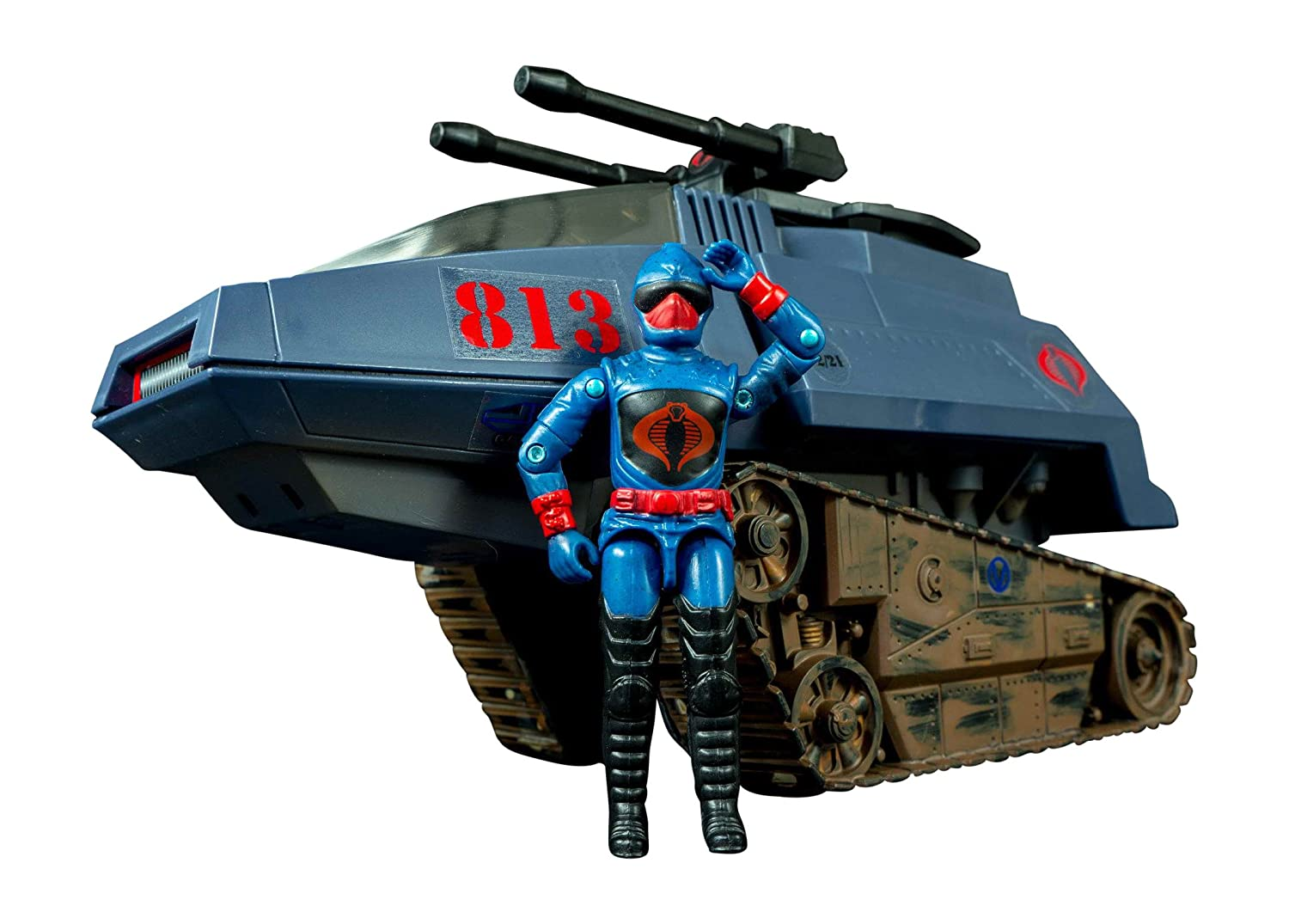 Joe The Real American Hero Collection Tank with Rip It Action Figure Hasbro III HISS Cobra H.I.S.S G.I