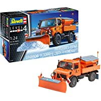 Revell Unimog u1300l Winterdienst Snowplough Kit de Modelo