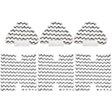 3 Pack Touch-Free Steam Mop Pads + 3 Pack Triangle Dirt Grip Washable Pads Kit for Shark Lift-Away Pro & Genius Steam Pocket