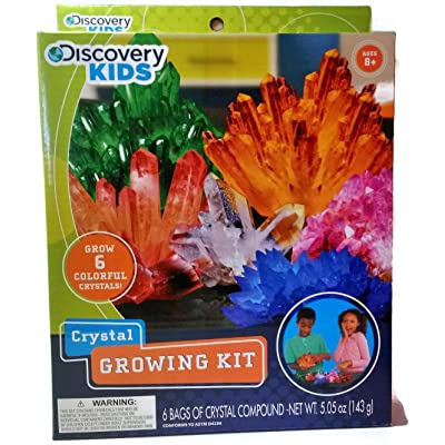 Discovery Kids Crystal Growing Kit - Ages 8+: Toys & Games