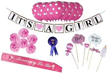 Amazoncom Party Pax Baby Shower Decoration Kit For Girls Health