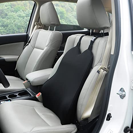 Amazon.com: Dreamer Car Back Support Cushion with 2 Straps Designed ...