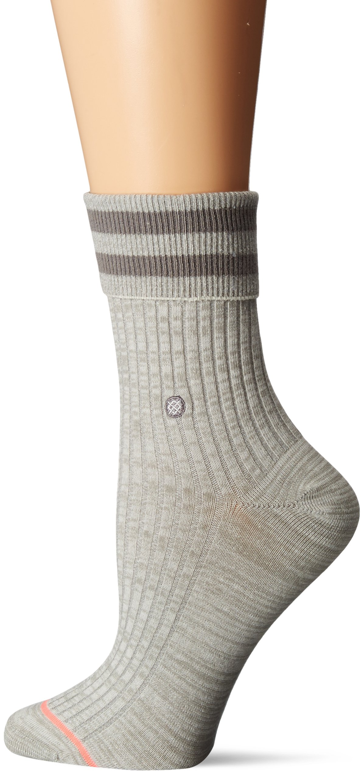 Stance Women's Uncommon Anklet, Grey, Small