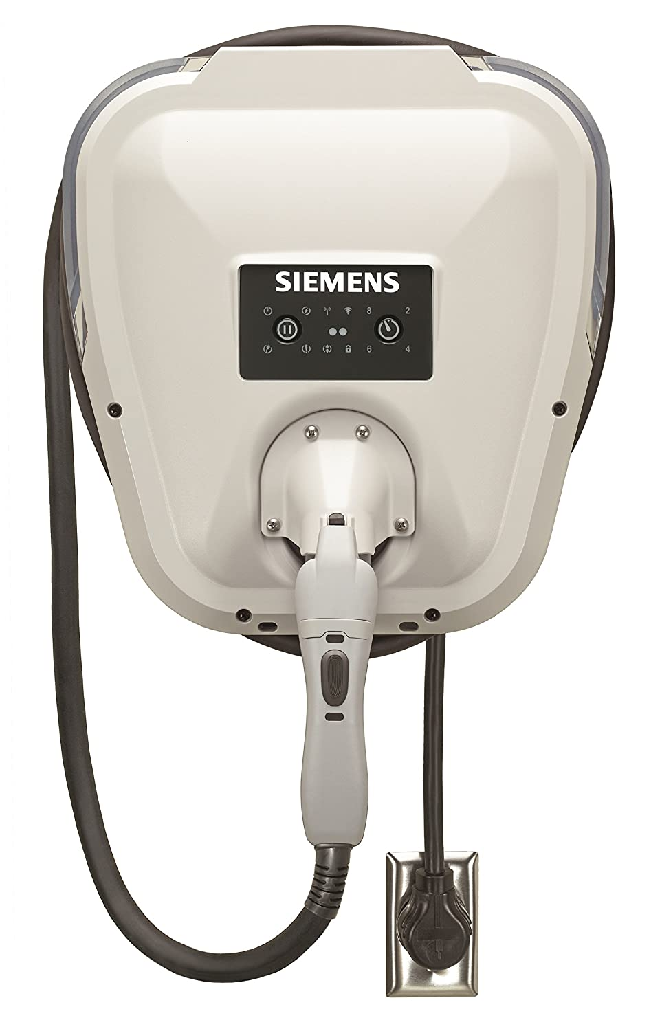 Siemens VC30GRYU Versicharge 30-Amp Electric Vehicle Charger with Flexible Indoor/Outdoor and 20-Feet Cord