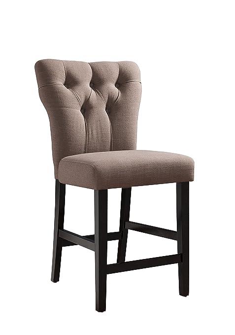 Amazon.com: Acme muebles Effie contador altura comedor ...