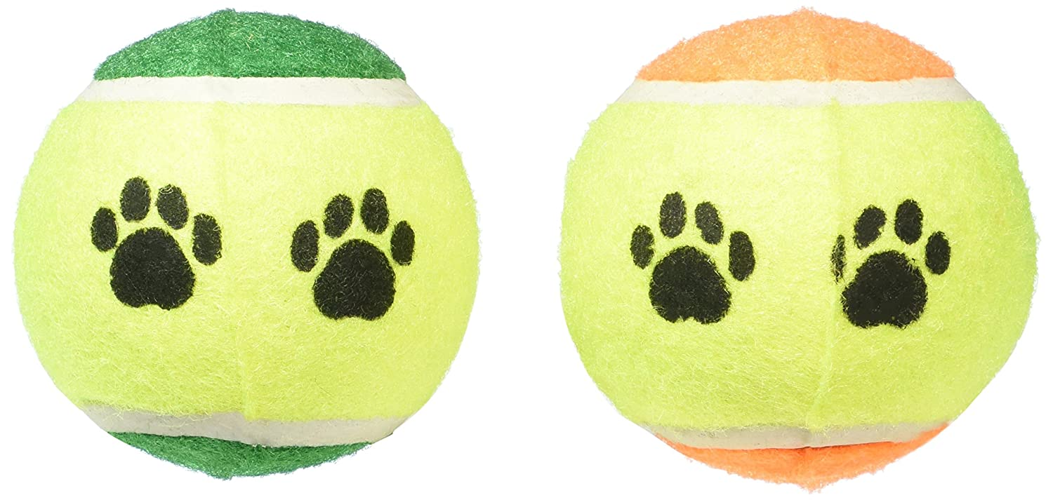 Greenbrier International Inc Dog Toy Pack of Two Tennis Balls