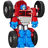 Transformers Rescue Bots - Optimus Prime Converting Robot Action Figure - Playskool Heroes - Kids Toys - Ages 3+