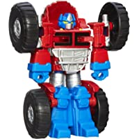 TRANSFORMERS - Rescue Bots - Optimus Prime Converting Robot - Playskool Heroes - Collectible Action Figure and Toys for…