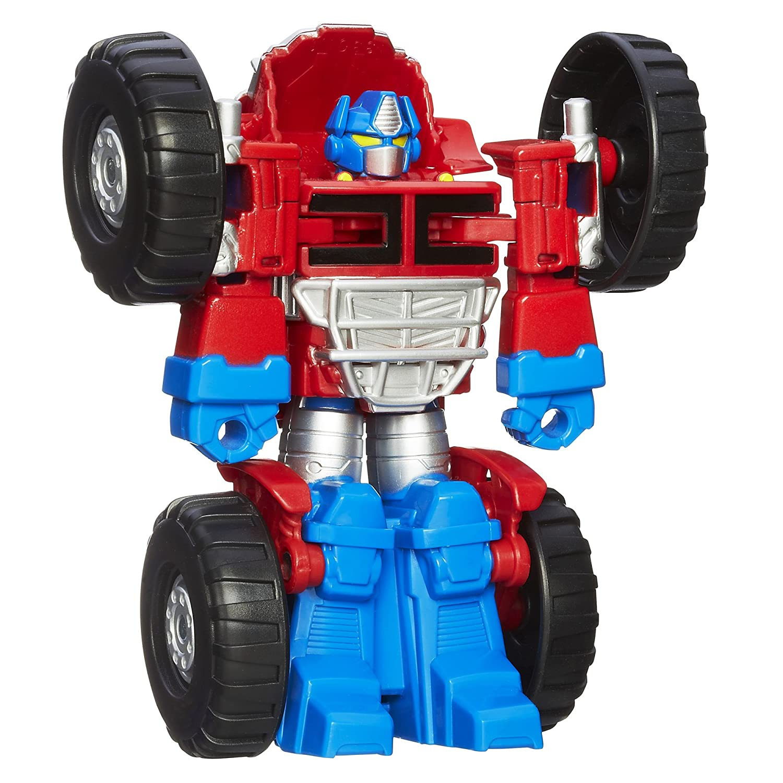 Transformers Playskool Heroes Heroes Heroes Rescue Bots Optimus Prime Figur 969417